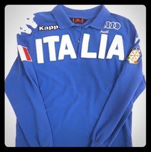 Kappa Italian themed rugby SIZE MEDIUM